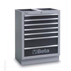 Modulo fisso con 7 cassetti per arredo officina - Beta C45M7