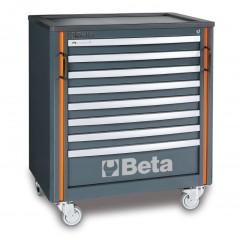 Modulo cassettiera mobile con 8 cassetti per arredo officina - RSC55 C55C8