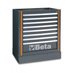 Modulo fisso con 8 cassetti per arredo officina - RSC55 C55M8