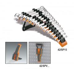Supporto vuoto per chiavi combinate (art. 42MP), chiavi combinate a cricchetto reversibile (art. 142) ... - Beta 42/SP_plastica