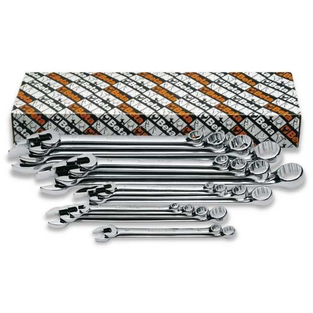 Serie di 18 chiavi combinate lunghe - Beta 42LMP/S