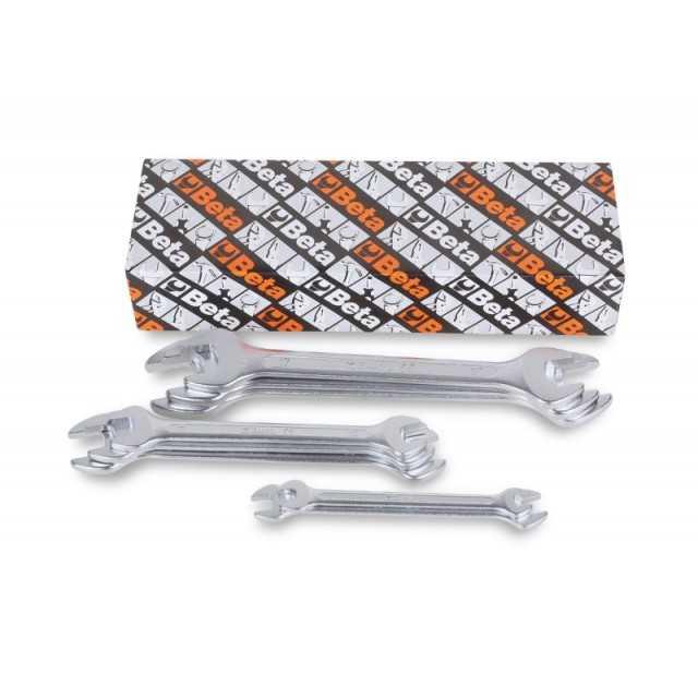 Serie di 8 chiavi a forchetta doppie - Beta 55/S