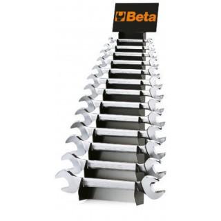 Serie di 13 chiavi a forchetta doppie con supporto - Beta 55/SP