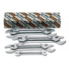 Serie di 8 chiavi a forchetta doppie - Beta 55AS/S