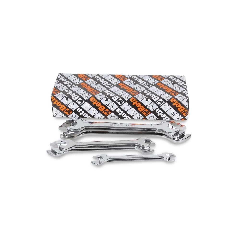 Serie di 8 chiavi a forchetta doppie - Beta 55MP/S