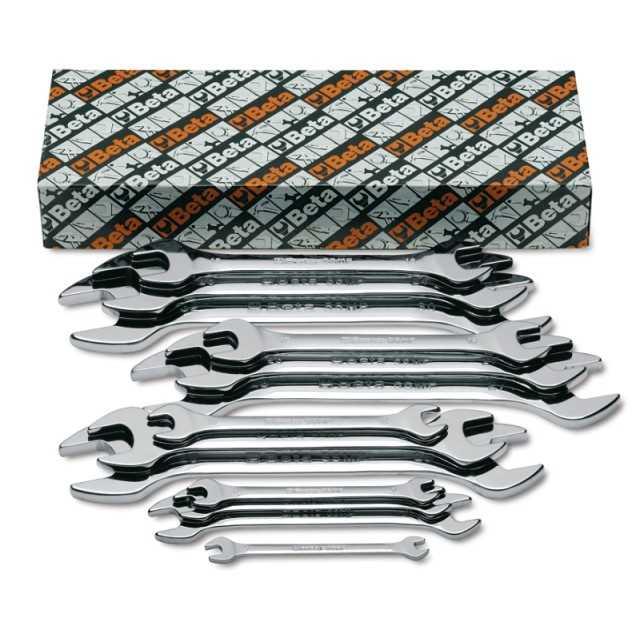 Serie di 13 chiavi a forchetta doppie - Beta 55MP/S