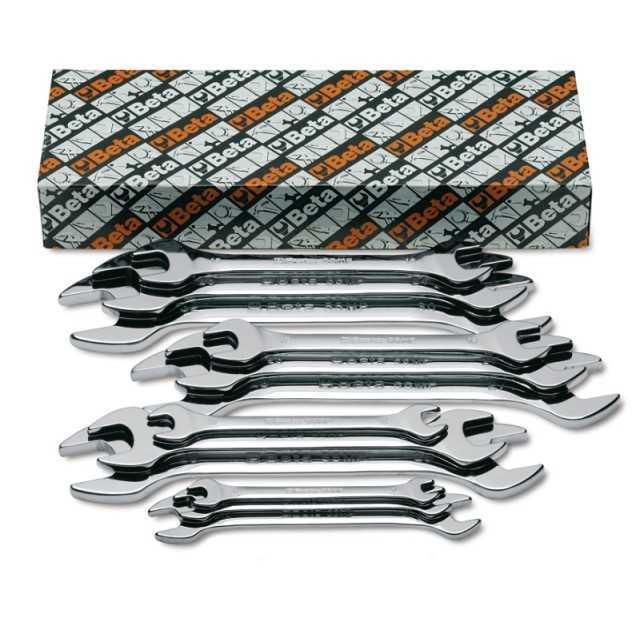 Serie di 12 chiavi a forchetta doppie - Beta 55MP/S