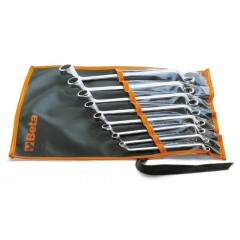 SET OF 8 RING WRENCHES IN WALLET BETA TOOLS 90/B8