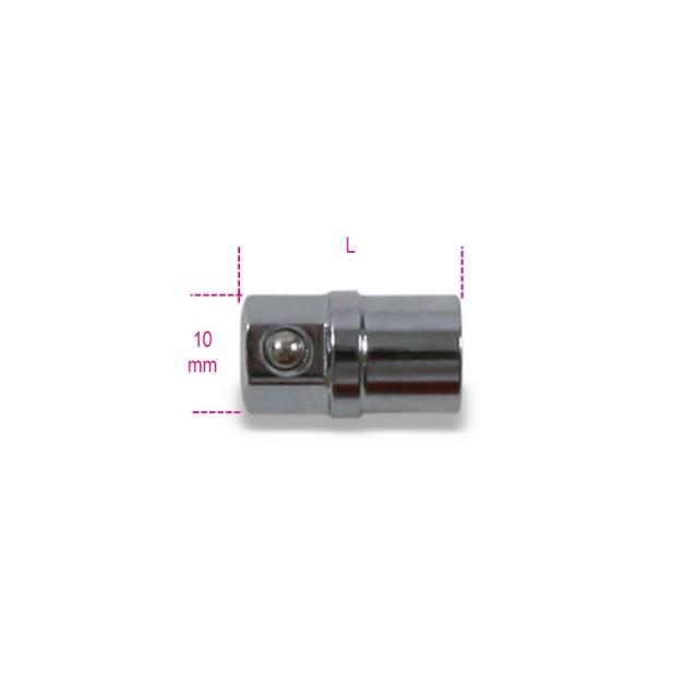 """Adattatore portainserti da 1/4"""" per chiavi a cricchetto da 10 mm cromato - Beta 123E1/4"""