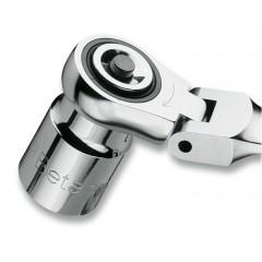 Kit di 4 adattatori per chiavi a cricchetto:  1 adattatore per bits 3 adattatori a sgancio rapido - Beta 123/K4