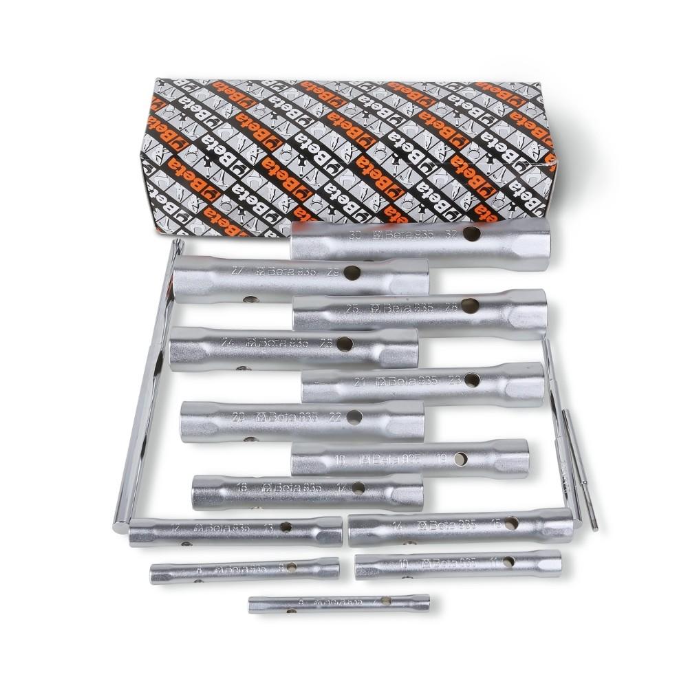 Serie di 13 chiavi a tubo doppie esagonali serie leggera (art. 935) - Beta 935/S