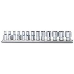 Serie di 13 chiavi a bussola a mano bocca esagonale (art. 900) - Beta 900/SB