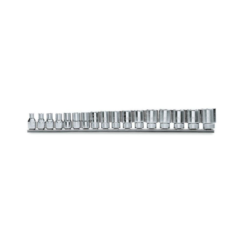 Serie di 17 chiavi a bussola a mano bocca poligonale (art. 910B) - Beta 910B/SB