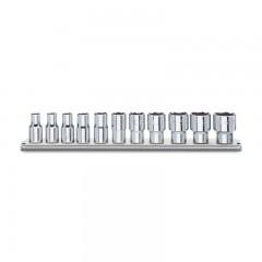 Serie di 11 chiavi a bussola a mano bocca esagonale (art.920A/AS) su supporto - Beta 920A-AS/SB11