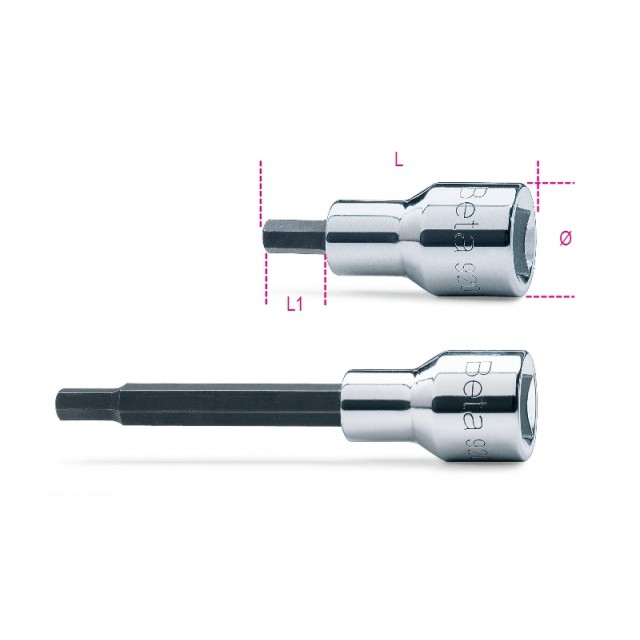 Socket drivers for hexagon screws - Beta 920PE