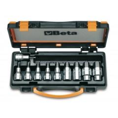 Serie di 10 chiavi a bussola maschio esagonale (art. 920PE) in cassetta - Beta 920PE/C10