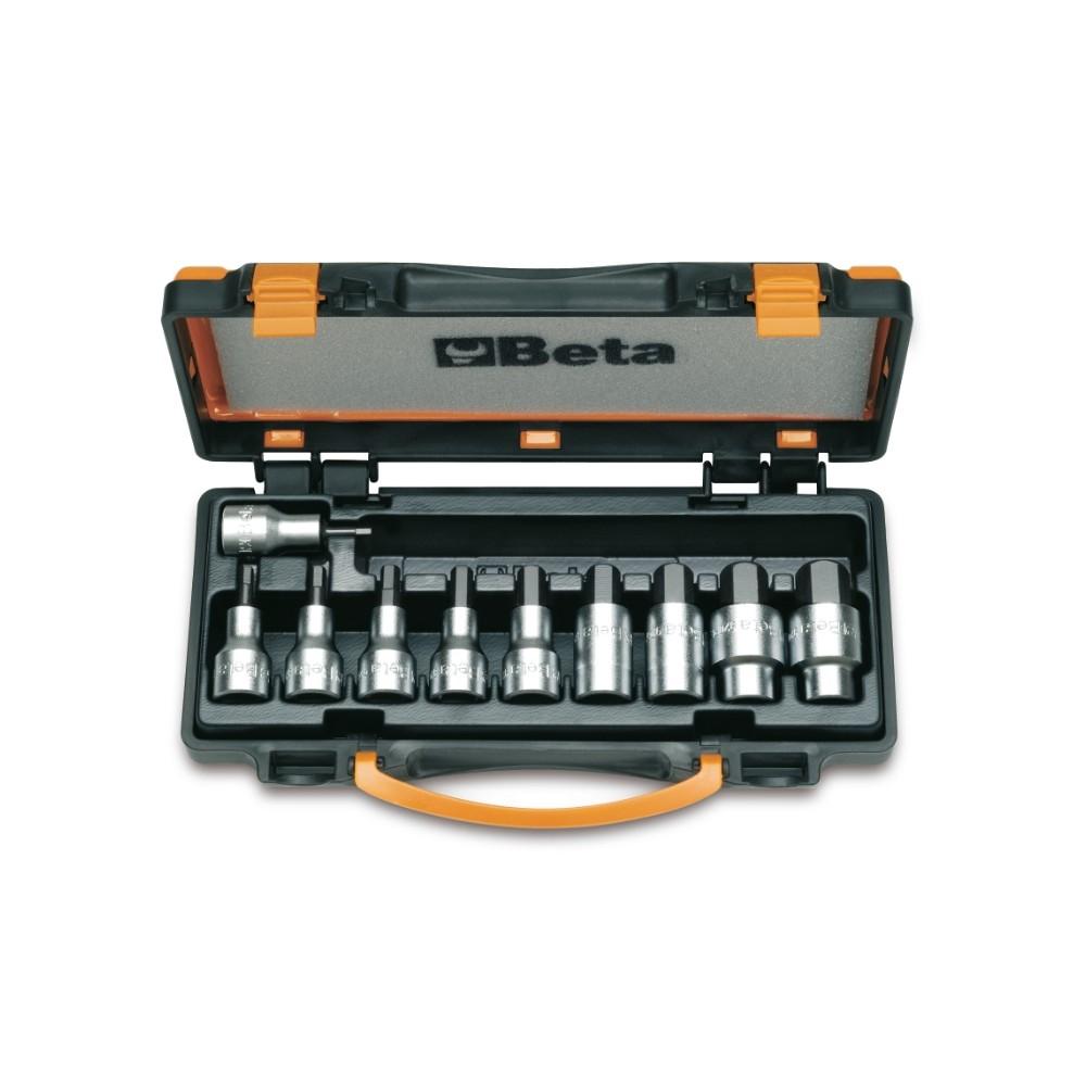 Serie di 10 chiavi a bussola maschio esagonale (art. 920PE) in cassetta - Beta 920PE/C