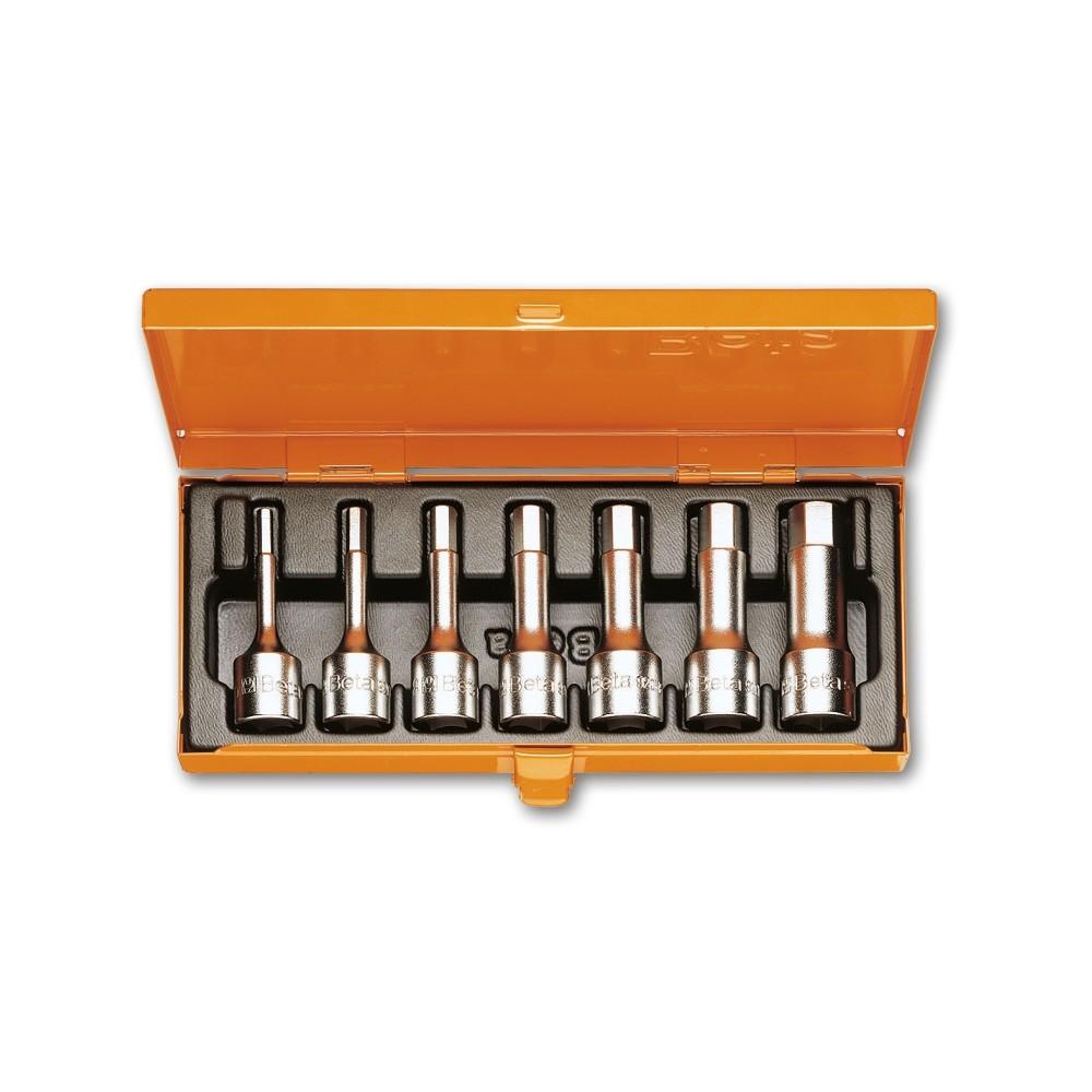 Serie di 7 chiavi a bussola maschio esagonale (art. 910ME) in cassetta - Beta 920ME/C