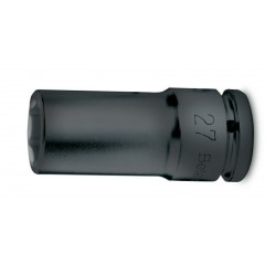 """Chiavi a bussola con attacco quadro femmina 1/2"""" bocca esagonale, serie lunga fosfatate - Beta 720L"""