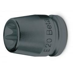 """Chiavi a bussola  per viti con profilo Torx® con attacco quadro  femmina 1/2"""" fosfatate - Beta 720FTX"""