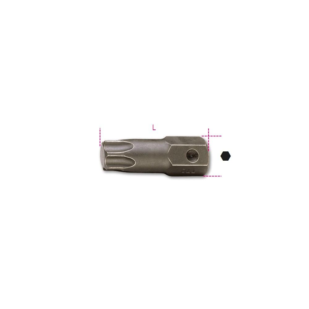Inserti maschio per viti con impronta Torx  attacco 16 mm fosfatati - Beta 727/ES16TX