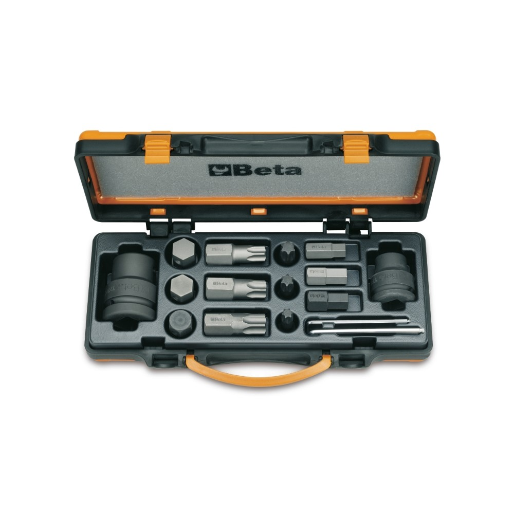 12 impact bits and 4 accessories - Beta 727/C16