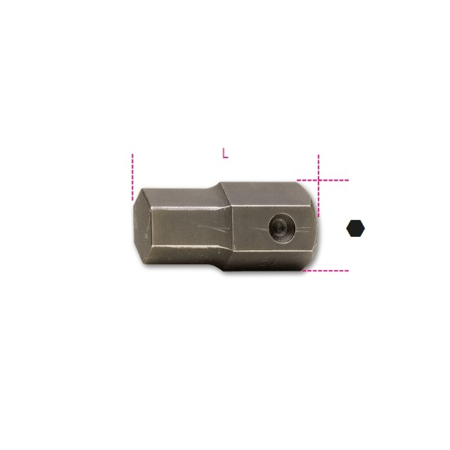 Inserti maschio esagonale attacco 22 mm fosfatati - Beta 727/ES22