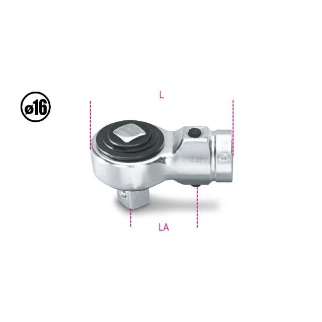 Cricchetto semplice per barre dinamometriche - Beta 614/50