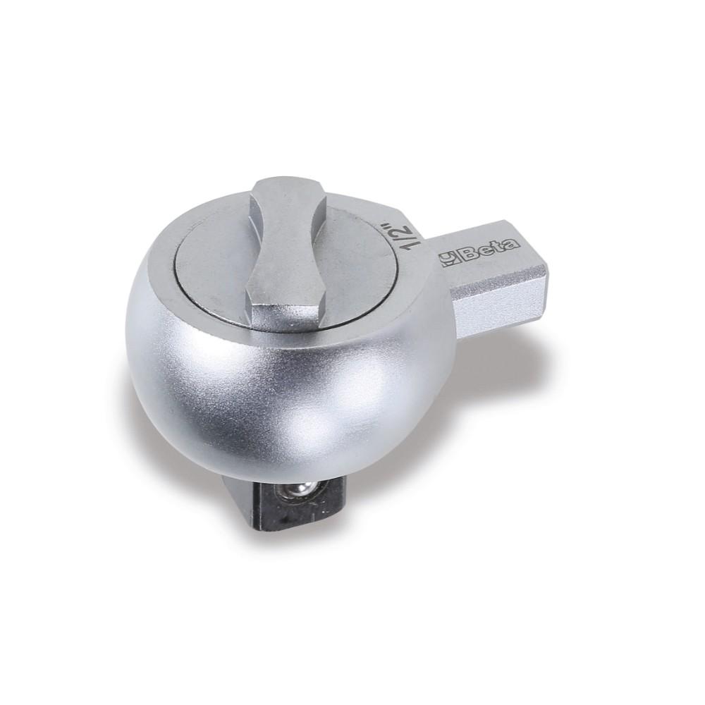 Cricchetti reversibili per barre dinamometriche con attacco rettangolare - Beta 615