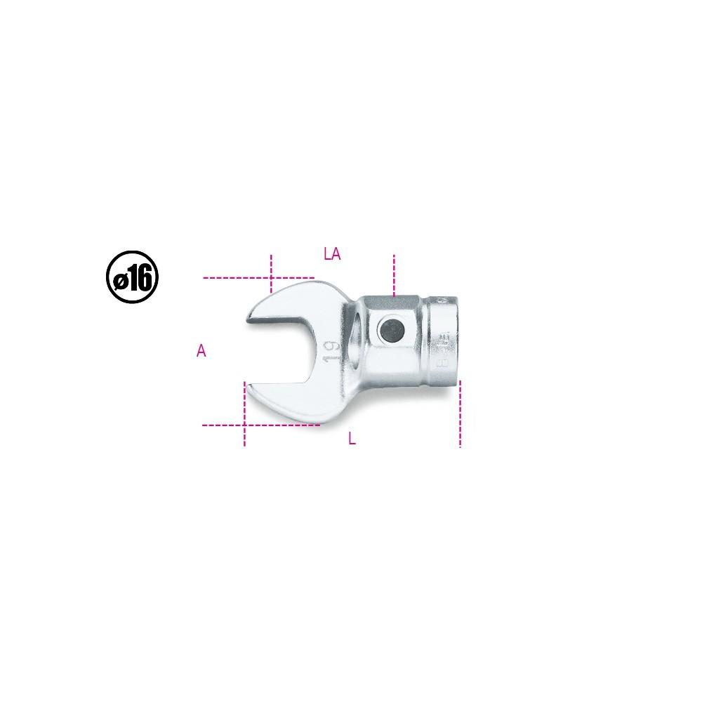 Chiavi a forchetta per barre dinamometriche - Beta 642