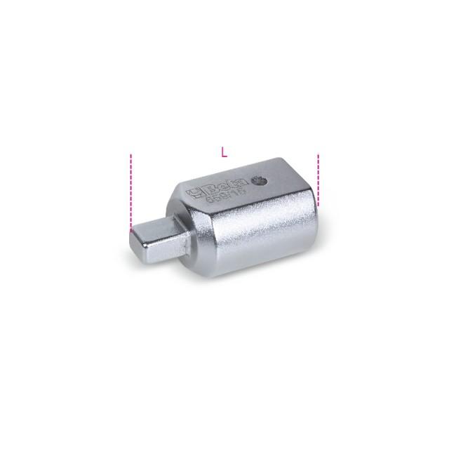 Raccordo con attacco rettangolare  femmina 14x18 mm e maschio 9x12 mm - Beta 659/15