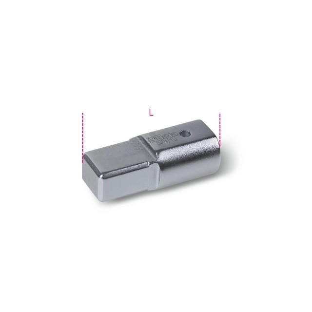 Raccordo con attacco rettangolare  femmina 9x12 mm e maschio 14x18 mm - Beta 659/16