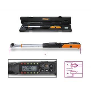 Clé dynamométrique électronique à lecture directe, utilisable pour serrage droite ou gauche précision de serrage ± 2%/± 3% -
