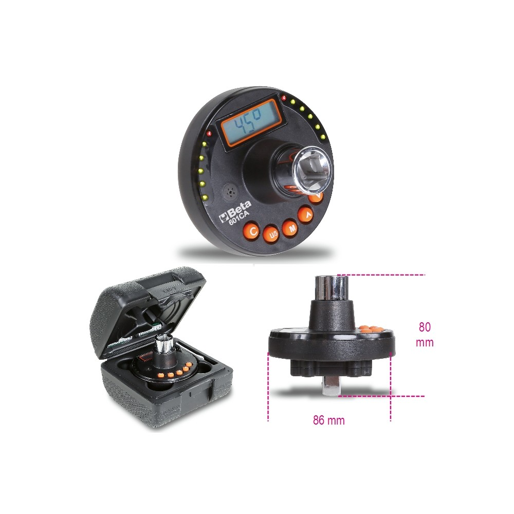 Goniometro digitale per serraggi coppia ed angolo - Beta 601CA