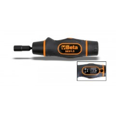 Tournevis dynamométrique à débrayage Utilisable pour serrage droite Précision de serrage : ±6% - Beta 583
