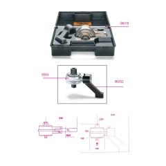 Moltiplicatore di coppia destrorso/sinistrorso e accessori rapporto 5: 1 con piede di reazione - Beta 560/C4+