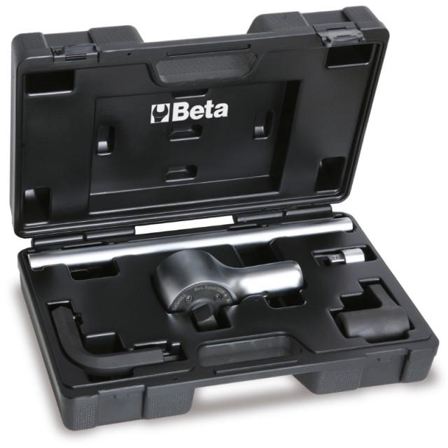 Moltiplicatore di coppia destrorso/sinistrorso in valigetta di materiale plastico rapporto 6,5: 1 - Beta 560/C6