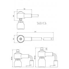 Multiplicateur de couple, pour serrage droite/gauche en coffret plastique