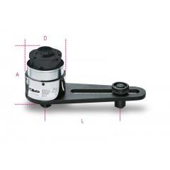 Moltiplicatori di coppia destrorsi/sinistrorsi rapporto 25: 1 con dispositivo antiritorno - Beta 565/1R - 565/2R - 565/3R