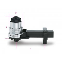 Moltiplicatore di coppia destrorso/sinistrorso rapporto 125: 1  con dispositivo antiritorno - Beta 567/4R