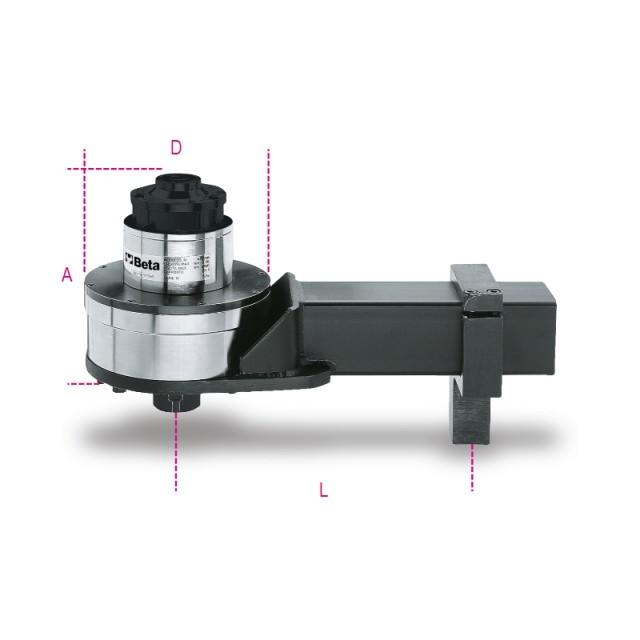 Moltiplicatore di coppia destrorso/sinistrorso rapporto 125: 1 con dispositivo antiritorno - Beta 567/5R