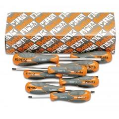 Serie di 8 chiavi maschio con impugnatura per viti con impronta Tamper Resistant Torx  (art. 1298RTX) - Beta 1298RTX/S8