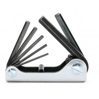 Serie di 7 chiavi maschio esagonale piegate (art. 96N) - Beta 96N/G