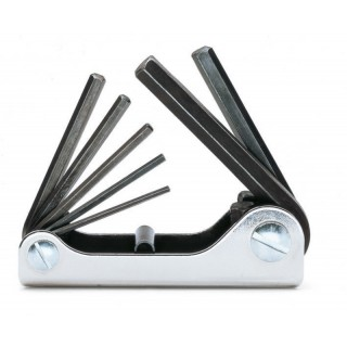 Serie di 7 chiavi maschio esagonale piegate (art. 96AS) - Beta 96AS/G