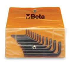 Beta 009200016-920A 16-Llaves De Vaso De Mano Hexagonal