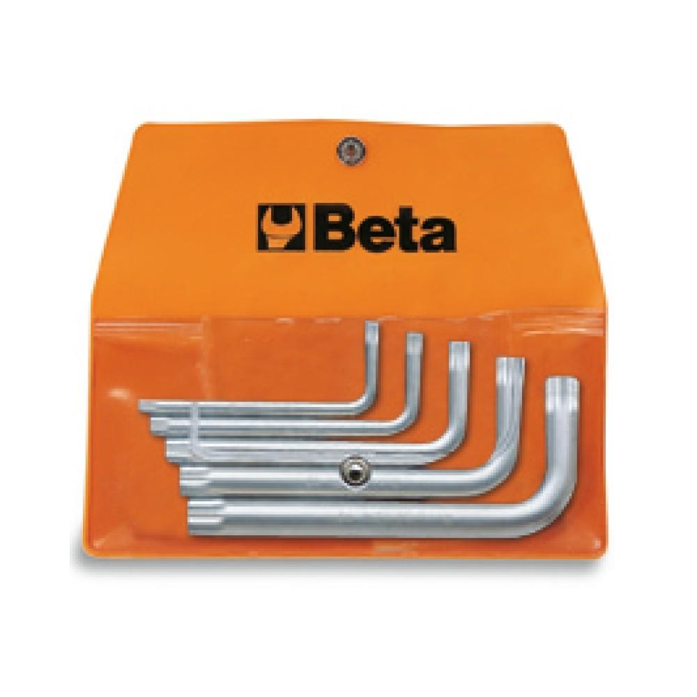 Serie di 5 chiavi a profilo XZN  (art. 98XZN) in busta - Beta 98XZN/B