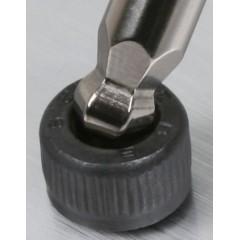 Chiavi maschio esagonale piegate con impugnatura di manovra cromate - Beta 96TBP