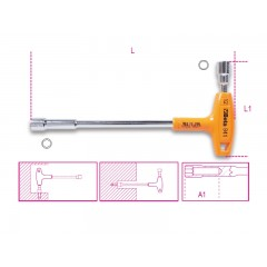 Chiavi a pipa esagonali-poligonali con impugnatura di manovra - Beta 941