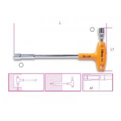 T-szárú dugókulcs, 12 x 6, műanyag markolattal - Beta 941