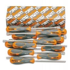 Serie di 12 chiavi a bussola esagonale con impugnatura bimateriale (art. 944BX) - Beta 944BX/S